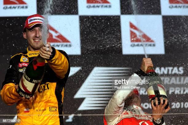 Robert Kubica Jenson Button Grand Prix of Australia Albert Park Melbourne Grand Prix Circuit 28 March 2010