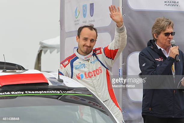 Robert Kubica of Poland during Day Three of the WRC Poland on June 29 2014 in Mikolajki Poland