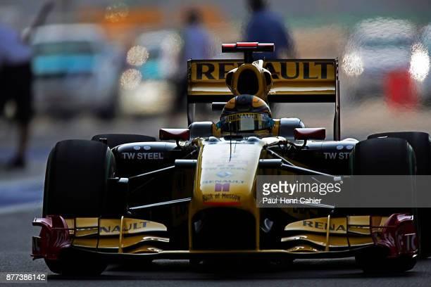 Robert Kubica Renault R30 Grand Prix of Abu Dhabi Yas Marina Circuit 14 November 2010