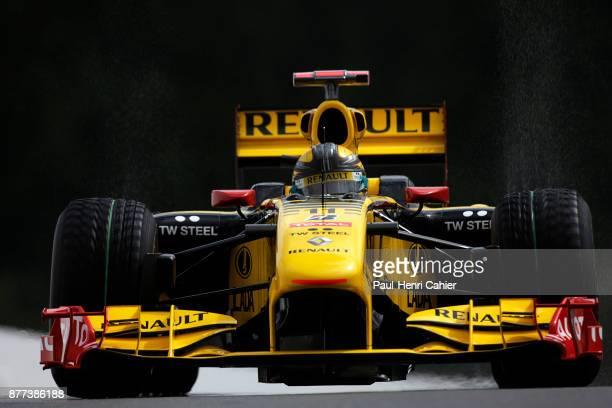 Robert Kubica Renault R30 Grand Prix of Belgium Circuit de SpaFrancorchamps 29 August 2010