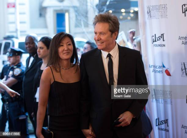 Robert Lamm and Joy Lamm attend the 48th Annual Songwriters Hall Of Fame Induction and Awards Gala at New York Marriott Marquis Hotel on June 15 2017...