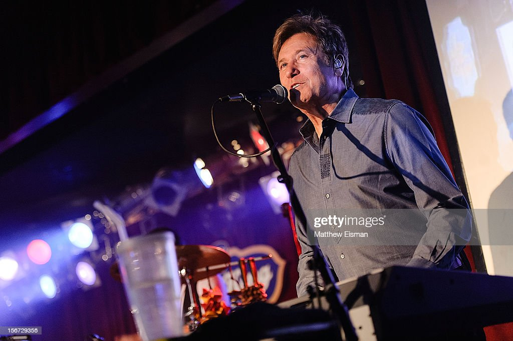 Robert Lamm of the rock band Chicago performs on stage during the 2012 Musicians On Call's benefit concert at B.B. King Blues Club & Grill on November 19, 2012 in New York City.