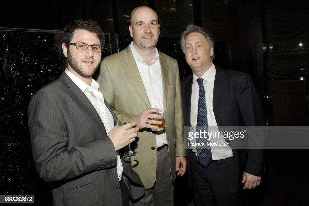 Robert Lebensfeld Bill Harvey and Charles Darwish attend ENRIQUE NORTEN Private Dinner Celebrating the 25th Anniversary of TEN ARQUITECTOS at The...