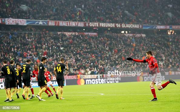 FC Bayern Muenchen v Club Atletico de Madrid - UEFA Champions League : News Photo