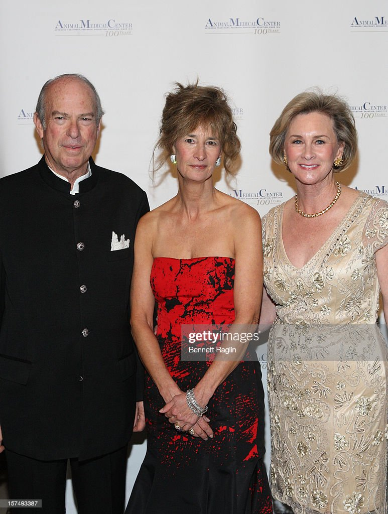 Robert Liberman, Gloria Gilbert Stoga, and Kathryn Coyne attend The Animal Medical Center's TOP DOG Gala at Cipriani 42nd Street on December 3, 2012 in New York City.