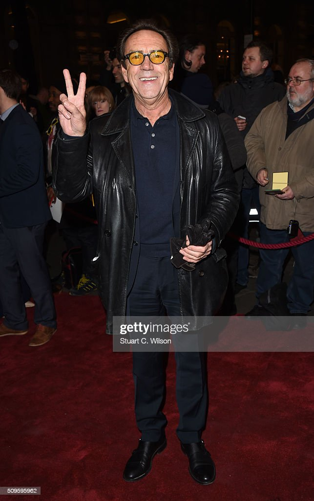 <a gi-track='captionPersonalityLinkClicked' href=/galleries/search?phrase=Robert+Lindsay&family=editorial&specificpeople=668085 ng-click='$event.stopPropagation()'>Robert Lindsay</a> attends the World Premiere of 'End Of Longing', written by and starring Matthew Perry at Playhouse Theatre on February 11, 2016 in London, England.