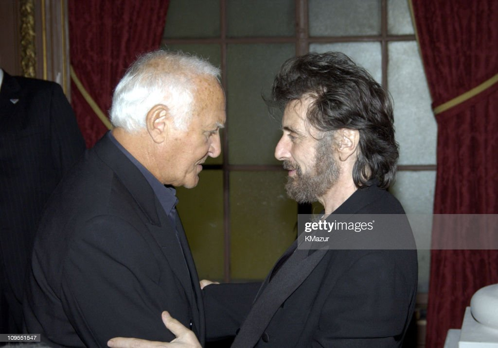 Robert Loggia and Al Pacino during 'Scarface' 20th Anniversary Rerelease Celebration After Party in New York City New York United States