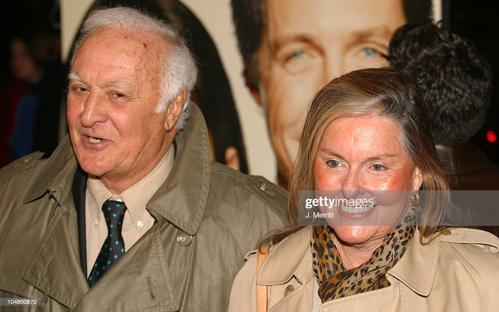 Robert Loggia and wife Audrey during Two Weeks Notice Premiere Arrivals at The Ziegfeld Theatre in New York City New York United States