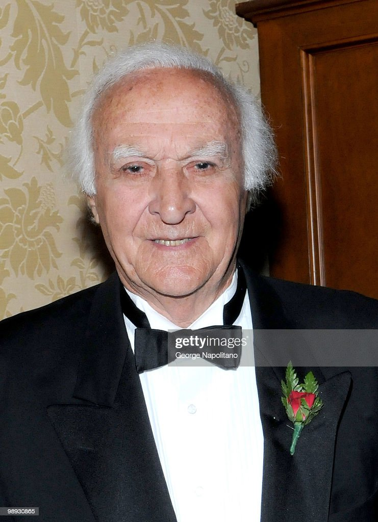 Robert Loggia attends the media reception for the 25th annual Ellis Island Medals Of Honor Ceremony Gala at the National Musuem of the American...