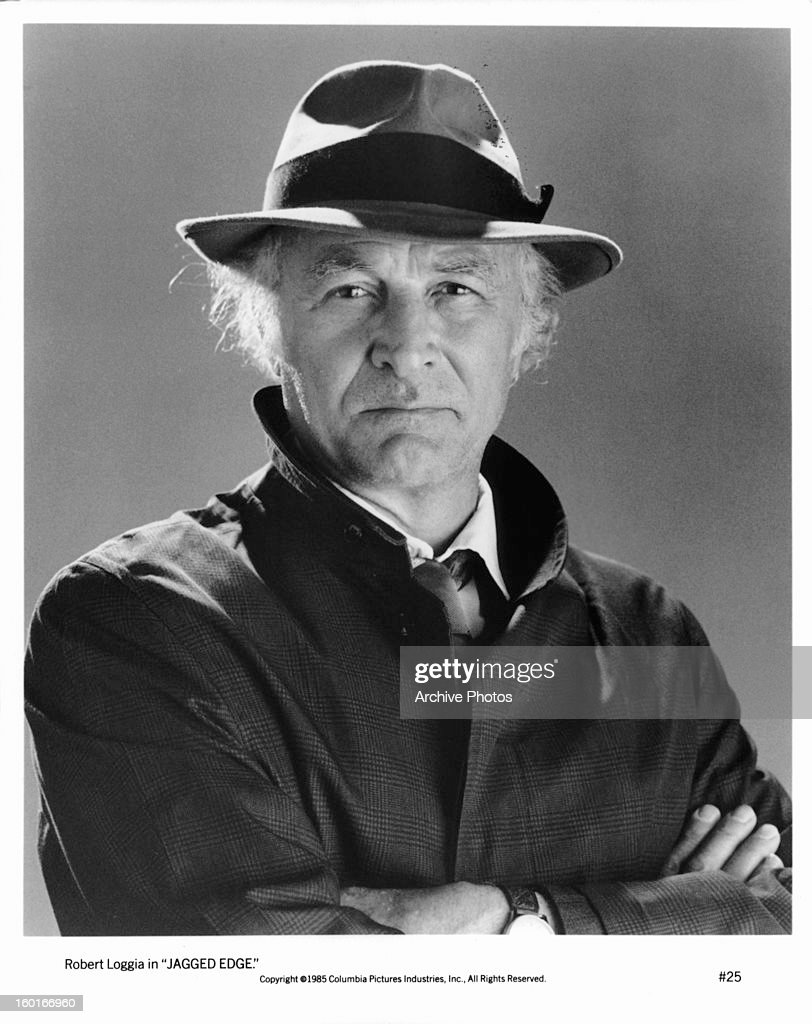 Robert Loggia publicity portrait for the film 'Jagged Edge' 1985