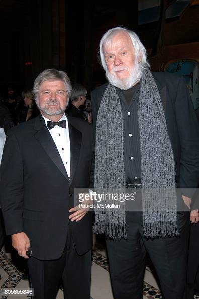 Robert Lynch and John Baldessari attend Americans For The Arts National Arts Awards To Honor Those Who Keep The Arts Alive In America at Cipriani on...