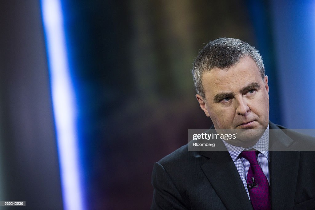 Robert Martin, chief executive officer of BOC Aviation Ltd, listens during a Bloomberg Television interview in Hong Kong, China, on Wednesday, June 1, 2016. BOC Aviation, the aircraft leasing unit of Bank of China that raised $1.1 billion from a share sale last month, rose as much as 2.6 percent in its trading debut in Hong Kong on Wednesday. Photographer: Justin Chin/Bloomberg via Getty Images