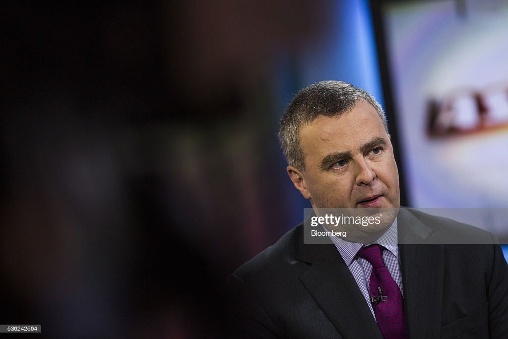Robert Martin, chief executive officer of BOC Aviation Ltd, speaks during a Bloomberg Television interview in Hong Kong, China, on Wednesday, June 1, 2016. BOC Aviation, the aircraft leasing unit of Bank of China that raised $1.1 billion from a share sale last month, rose as much as 2.6 percent in its trading debut in Hong Kong on Wednesday. Photographer: Justin Chin/Bloomberg via Getty Images