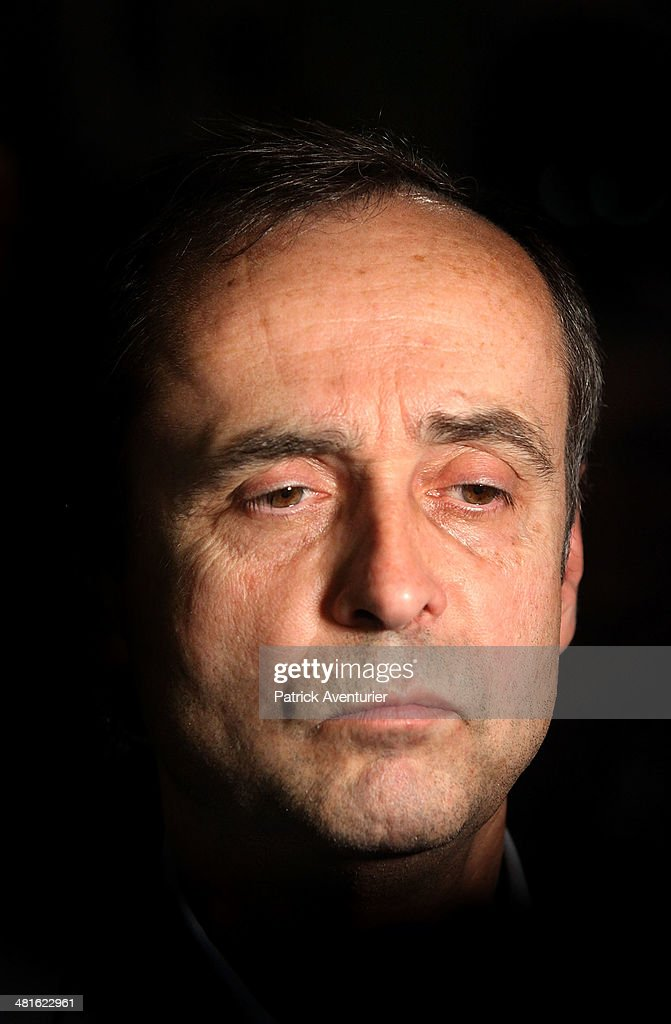 <a gi-track='captionPersonalityLinkClicked' href=/galleries/search?phrase=Robert+Menard&family=editorial&specificpeople=554783 ng-click='$event.stopPropagation()'>Robert Menard</a> is congrutulated by supporters after being elected mayor of Beziers during the second round of the French municipal elections on March 30, 2014 in Beziers, France. Menard is a member of the far-right National Front party (FN).