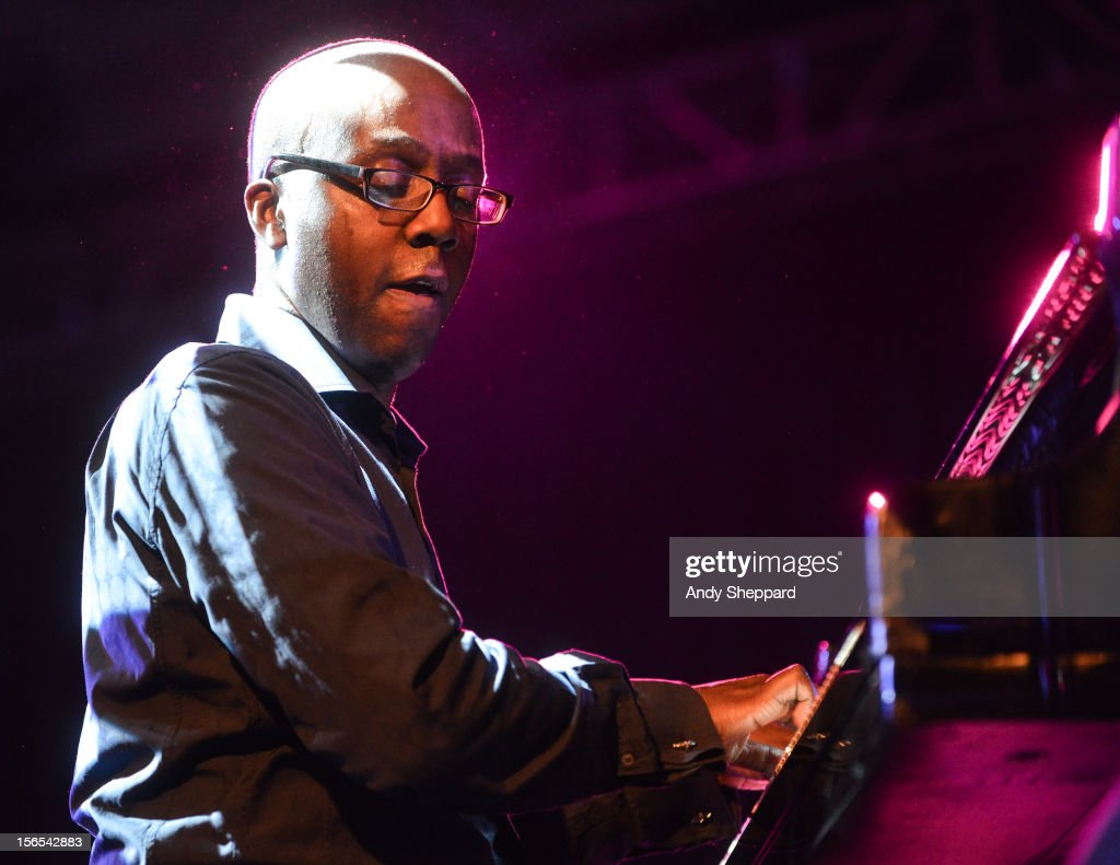 Robert Mitchell of Robert Mitchell's Panacea performs on stage at South Bank Centre during the London Jazz Festival 2012 on November 16, 2012 in London, United Kingdom.