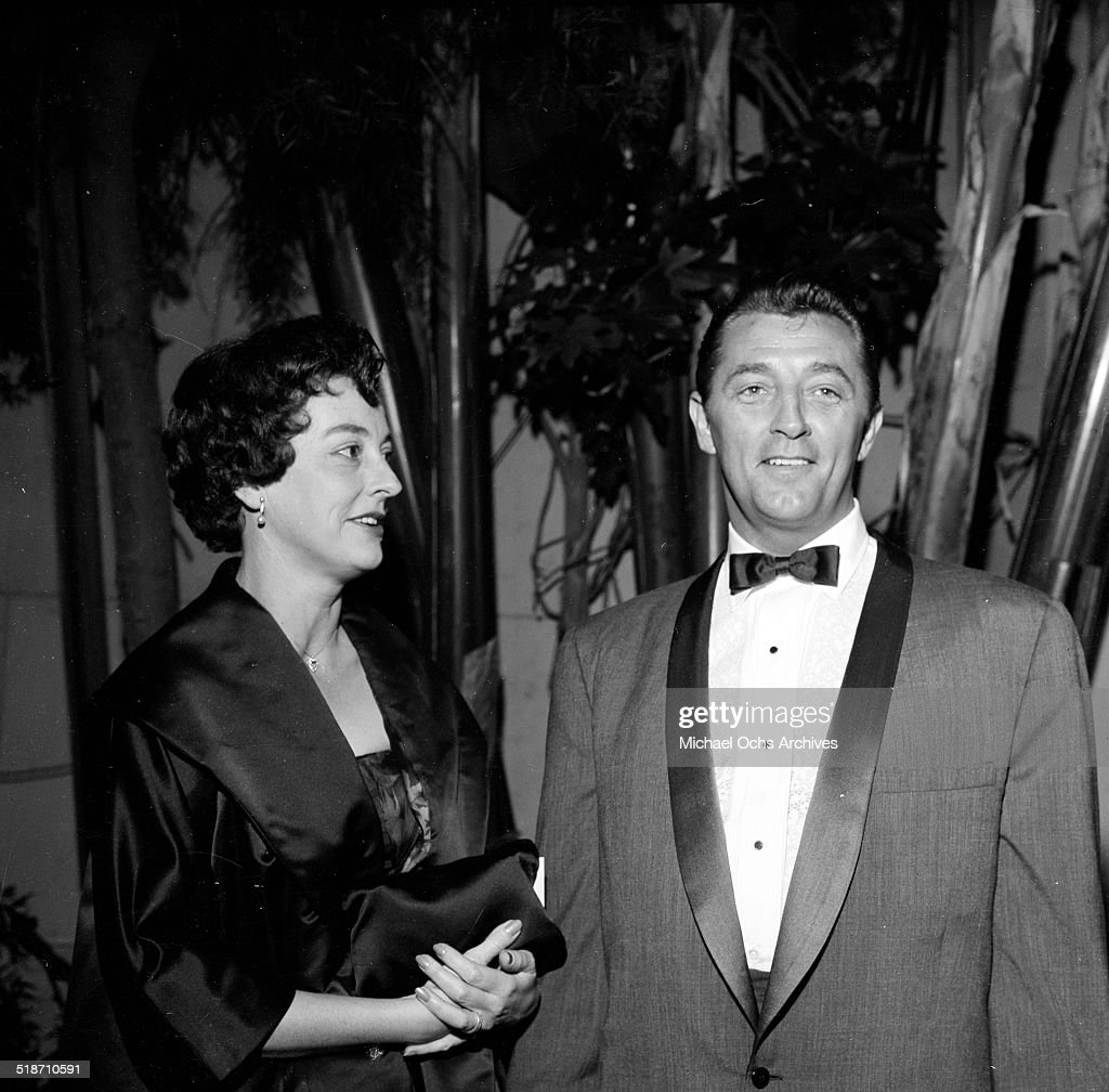 <a gi-track='captionPersonalityLinkClicked' href=/galleries/search?phrase=Robert+Mitchum&family=editorial&specificpeople=206827 ng-click='$event.stopPropagation()'>Robert Mitchum</a> and wife Dorothy attend an event in Los Angeles,CA.