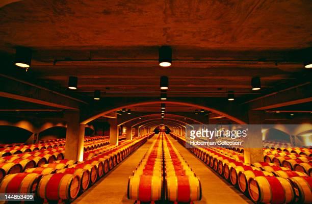 Robert Mondavi Wine Cellar Napa Valley California North America