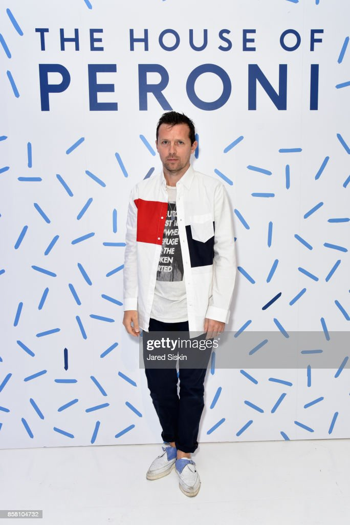 Robert Mongtomery attends St. Vincent & Peroni Nastro Azzurro Unveil Second Edition of The House of Peroni House of Peroni on October 5, 2017 in New York City.