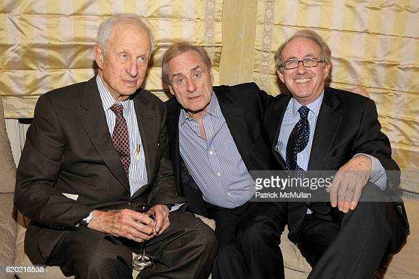 Robert Morgenthau Harry Evans and James Atlas attend TINA BROWN VICKY WARD and LA MER host party honoring SUSAN NAGEL'S new book 'Marie Therese' at...