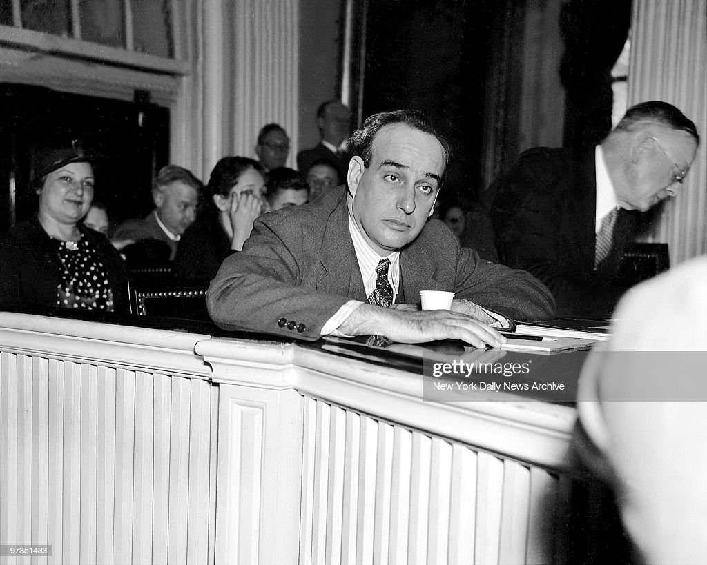 Robert Moses during Relief Hearings
