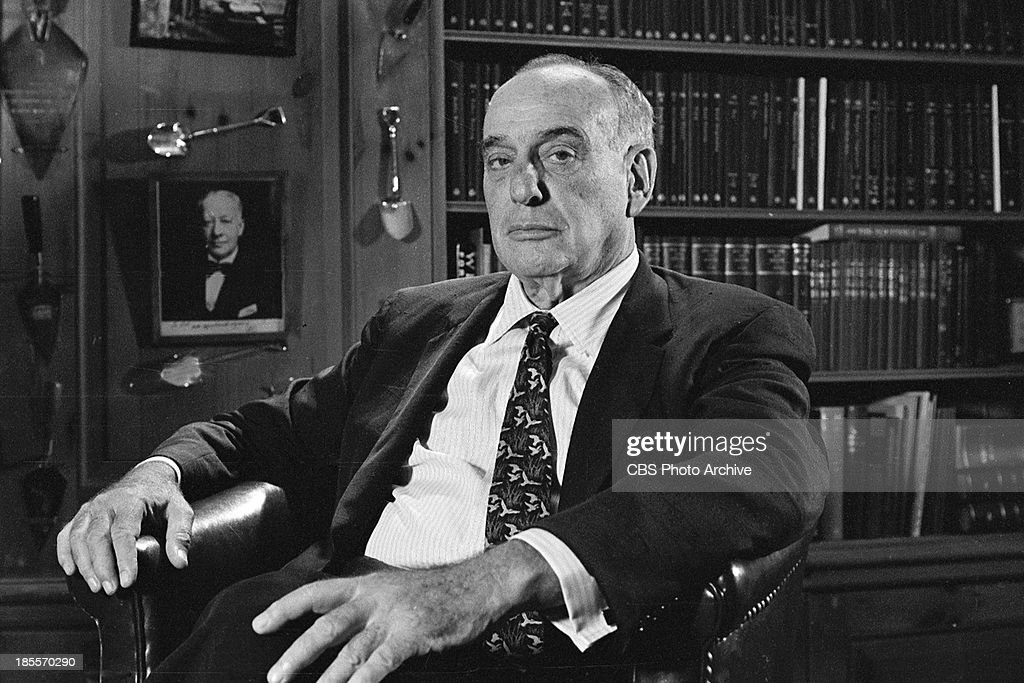Robert Moses on THE TWENTIETH CENTURY Episode 'The Happy Warrior' Image dated August 23 1961