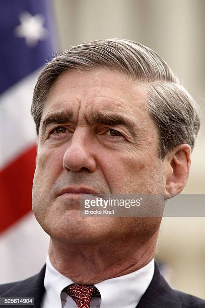 Robert Mueller the Director of the FBI attends the National Peace Officers' Memorial Day ceremony honoring fallen law enforcement officers Photo by...