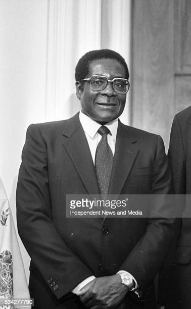 Robert Mugabe in Ireland 1983