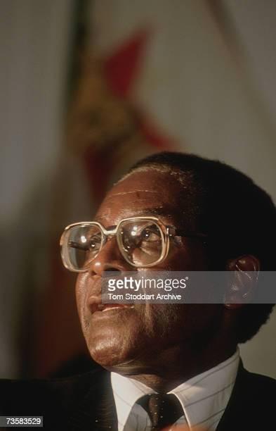 Robert Mugabe President of Zimbabwe 1989