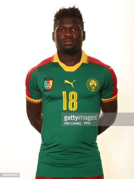 Robert Ndip Tambe of Cameroon during a portrait shoot ahead of the FIFA Confederations Cup Russia 2017 at the Renaissance Monarch Hotel on June 15...
