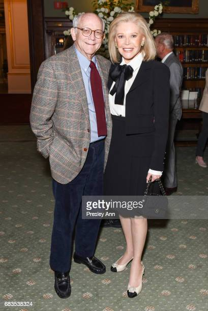 Robert Nederlander and Audrey Gruss attend Audrey Gruss' Hope for Depression Research Foundation Dinner with Author Daphne Merkin at The Metropolitan...