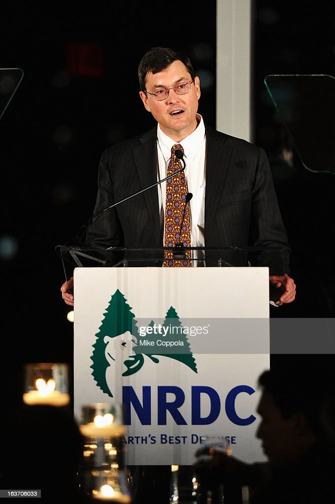 Robert Nutting speaks onstage at the 2013 Natural Resources Defense Council Game Changer Awards at the Mandarin Oriental Hotel on March 14, 2013 in New York City.