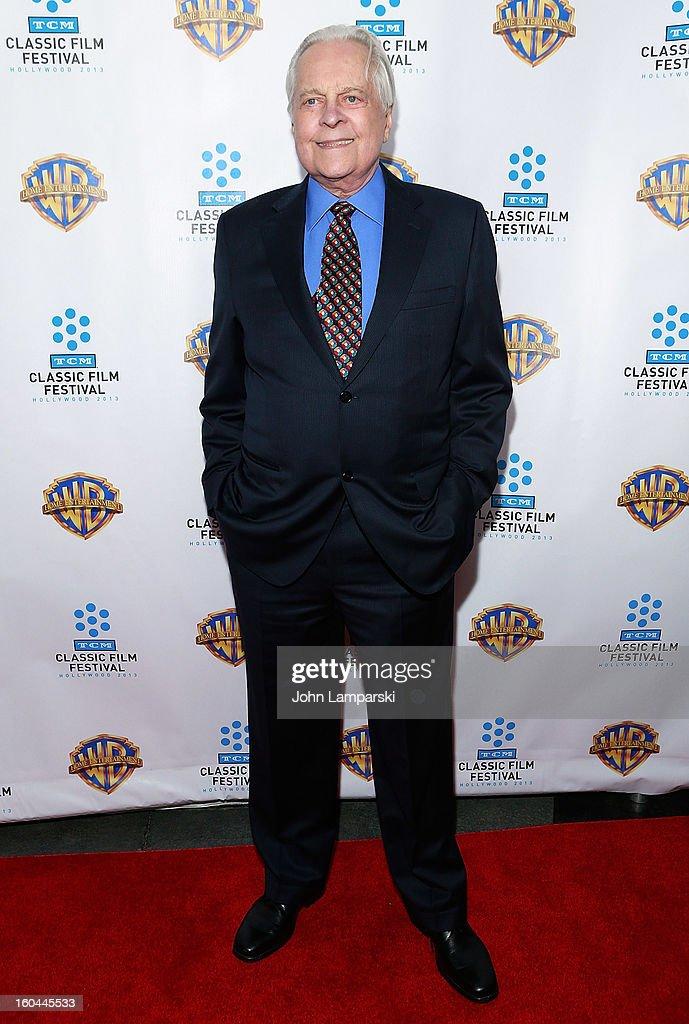 Robert Osborne attends 'Cabaret' 40th Anniversary New York Screening at Ziegfeld Theatre on January 31, 2013 in New York City.