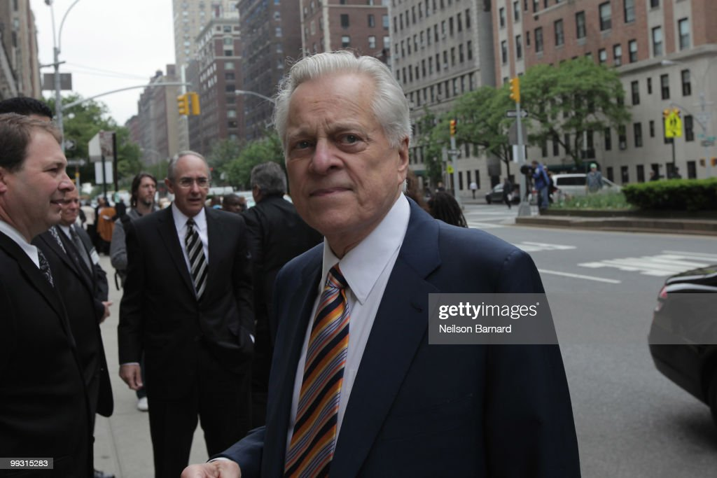 Robert Osborne attends the funeral service for entertainer Lena Horne at the Church of St Ignatius Loyola on May 14 2010 in New York City