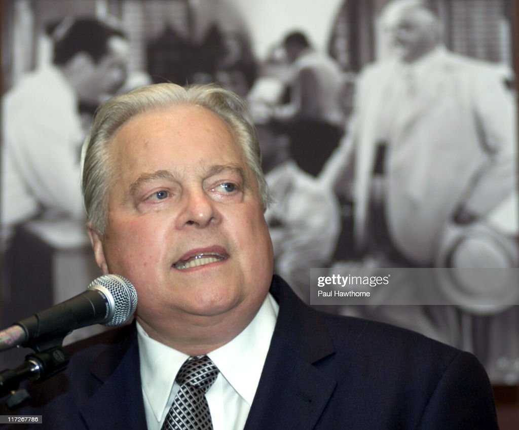 Robert Osborne during Casablanca 60th Anniversary Event Press Conference at Alice Tully Hall Lincoln Center in New York City New York United States