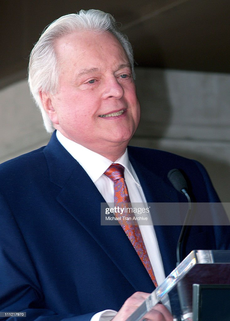 Robert Osborne during Robert Osborne Honored with a Star on the Hollywood Walk of Fame for His Achievements in Television at 1617 Vine Street in...