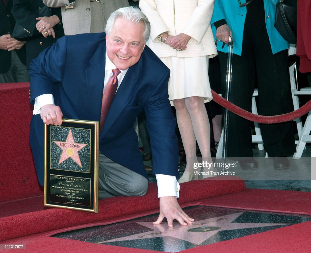 Robert Osborne Honored with a Star on the Hollywood Walk of Fame for His
