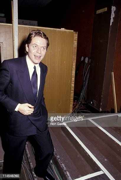 Robert Palmer during 14th Annual American Music Awards at Shrine Auditorium in Los Angeles CA United States