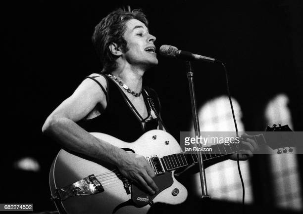 Robert Palmer of Vinegar Joe performing on stage at London Music Festival Alexandra Palace London 04 Aug 1973