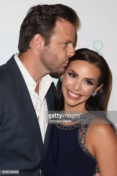 Robert ParksValletta and Scheana Marie attend the Premiere Party For Circle 8 Production's 'This Is LA' at Yamashiro Hollywood on May 3 2017 in Los...