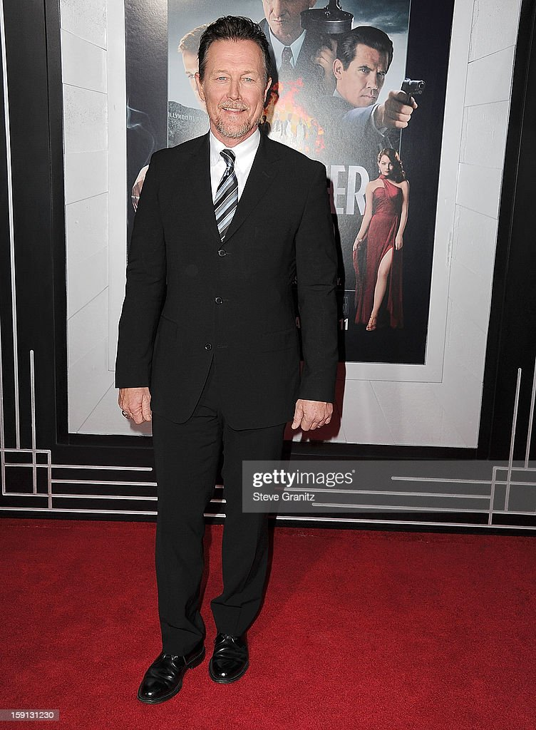 Robert Patrick arrives at the 'Gangster Squad' - Los Angeles Premiere at Grauman's Chinese Theatre on January 7, 2013 in Hollywood, California.