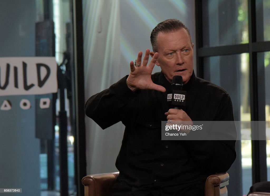 Robert Patrick attends Build series to discuss 'Scorpion' and 'Lore' at Build Studio on October 6, 2017 in New York City.