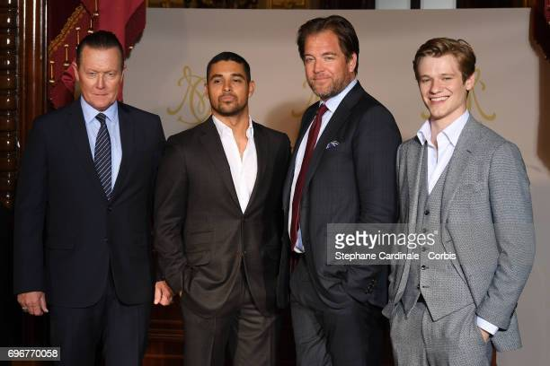 Robert Patrick Wilmer Valderrama Michael Weatherly and Lucas Till attend the After Party Opening Ceremony of the 57th Monte Carlo TV Festival at the...