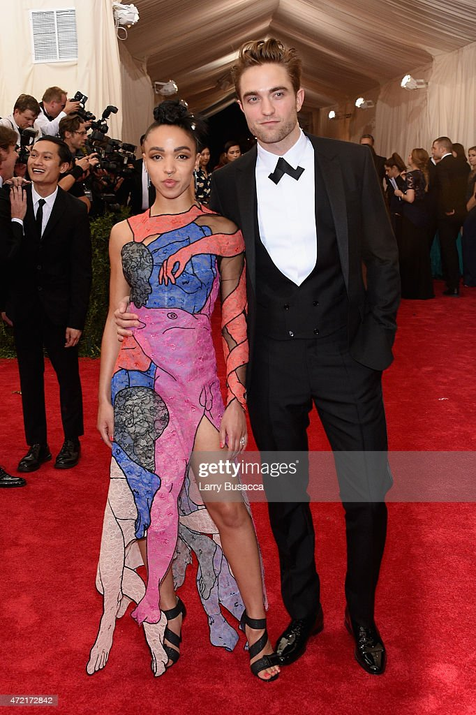 Robert Pattinson (R) and FKA Twigs attend the 'China: Through The Looking Glass' Costume Institute Benefit Gala at the Metropolitan Museum of Art on May 4, 2015 in New York City.