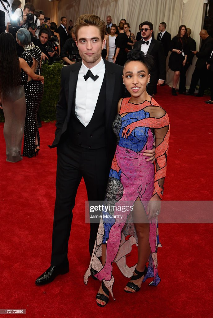 Robert Pattinson and FKA Twigs attend the 'China: Through The Looking Glass' Costume Institute Benefit Gala at the Metropolitan Museum of Art on May 4, 2015 in New York City.