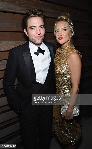 Robert Pattinson and Kate Hudson attend Michael Kors and iTunes After Party at The Mark Hotel on May 4 2015 in New York City