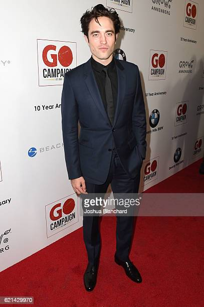 Robert Pattinson arrives at the 10th Annual GO Campaign Gala on November 5 2016 in Los Angeles California