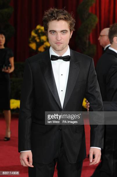 Robert Pattinson arriving for the 81st Academy Awards at the Kodak Theatre Los Angeles