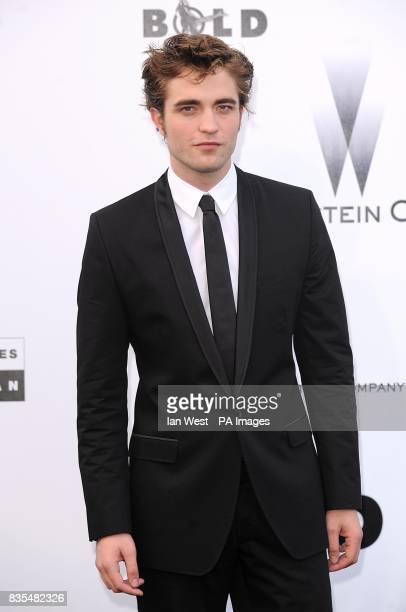 Robert Pattinson arriving for the AmfAR 'Cinema Against AIDS' dinner and auction at the Hotel Du Cap Eden Roc Cap d'Antibes Cannes France