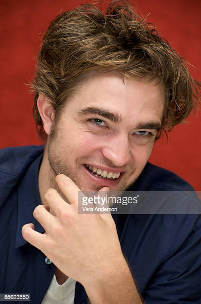 Robert Pattinson at the 'Twilight' press conference at the Beverly Wilshire Hotel on November 8 2008 in Beverly Hills California