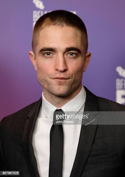 Robert Pattinson attends a screening for 'Good Time' during the 61st BFI London Film Festival on October 5 2017 in London England